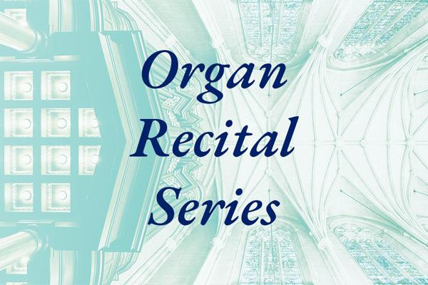 Organ Recital Series graphic