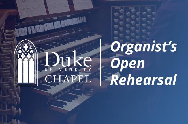 Organist's Open Rehearsal