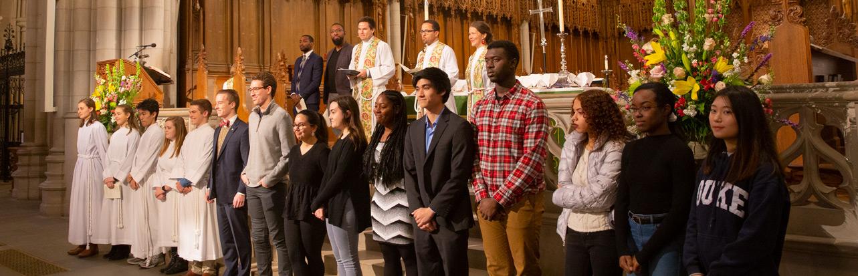 Chapel Scholars commissioning