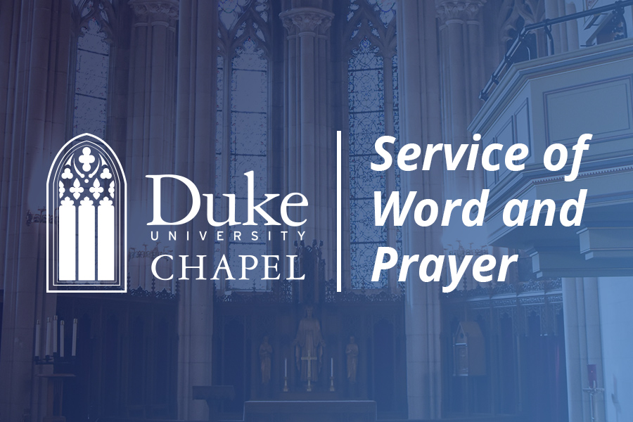A service of Word and Prayer