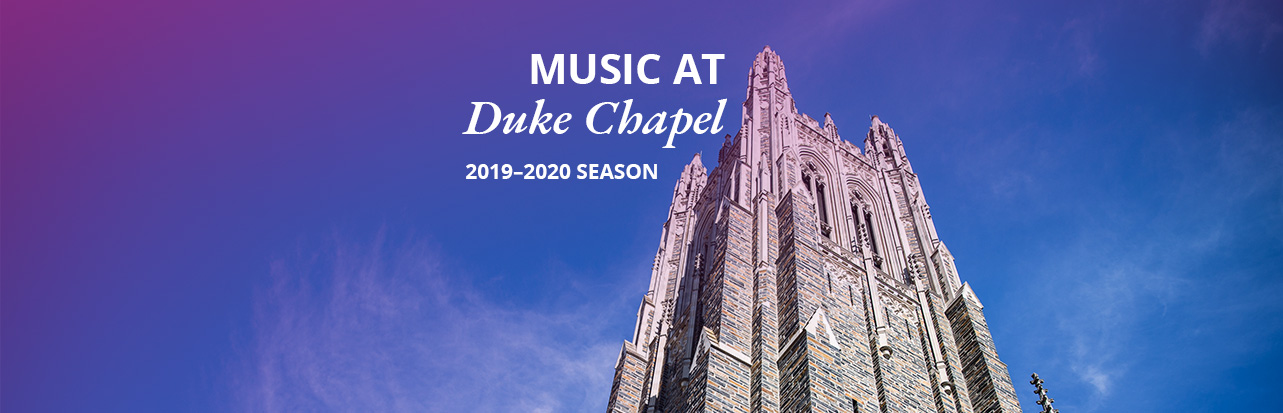 2019-20 Chapel Music Season