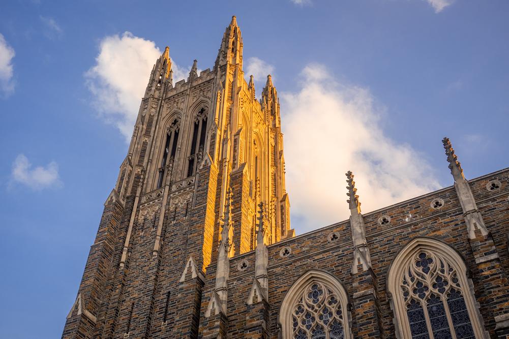 Duke Chapel tower