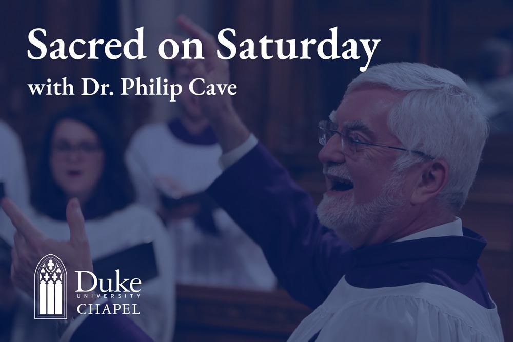 Sacred on Saturday
