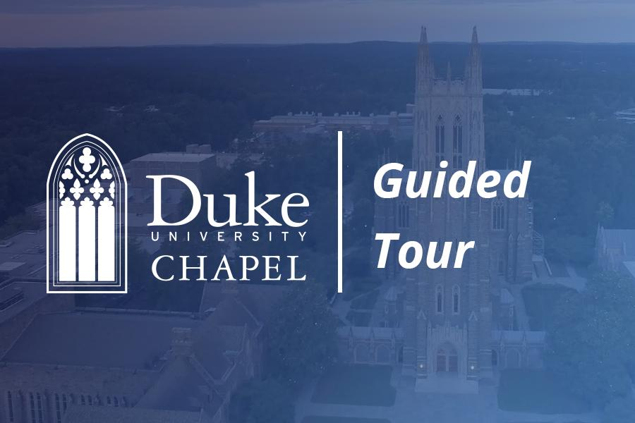 Aerial view of Duke Chapel