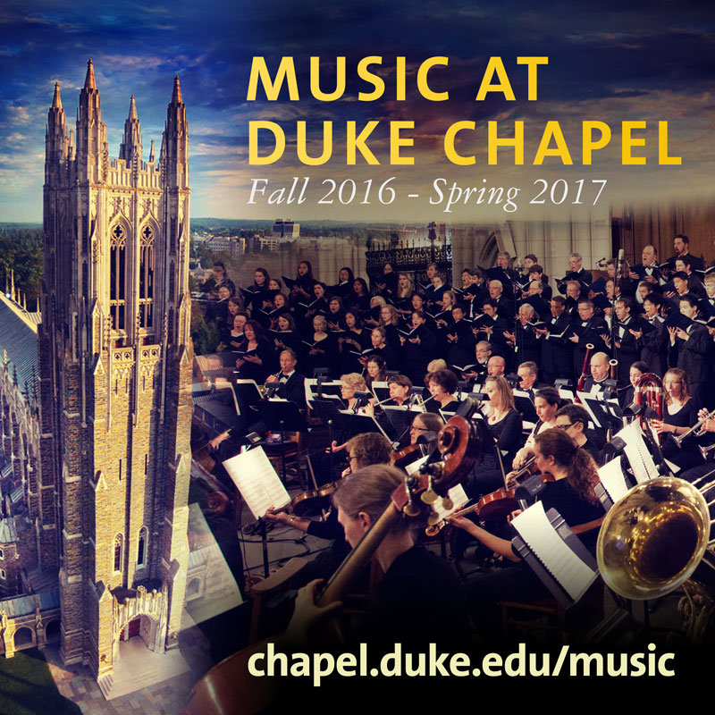 Music at Duke Chapel