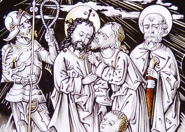 Betrayal of Jesus in the Garden of Gethsemane