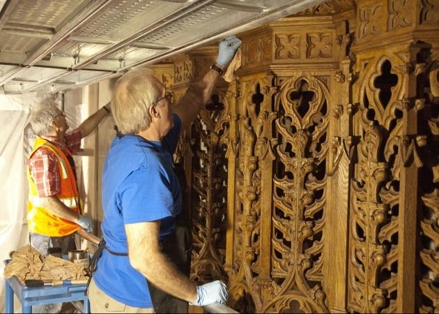 Restoring woodwork