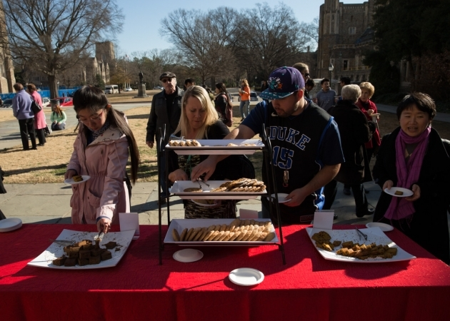 Events with food on the Chapel Quad