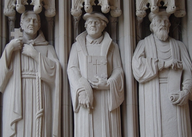 Savonarola, Luther and Wycliffe