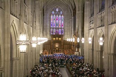 A Chapel Choir concert