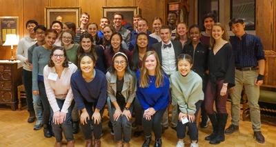 Chapel Scholars group photo