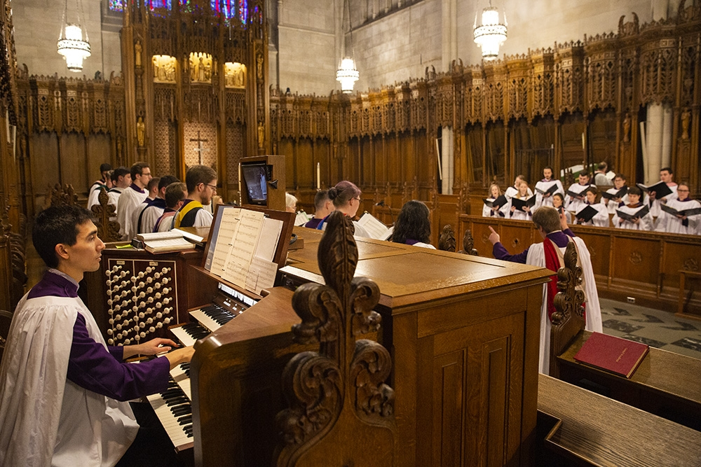 Choral Evensong worship service