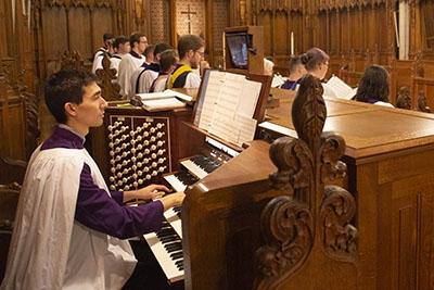 Duke Chapel Organ Scholars