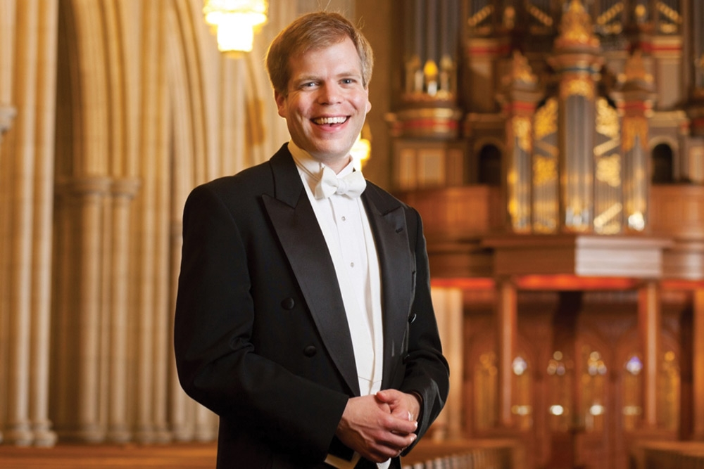 Chapel Organist Christopher Jacobson, FRCO
