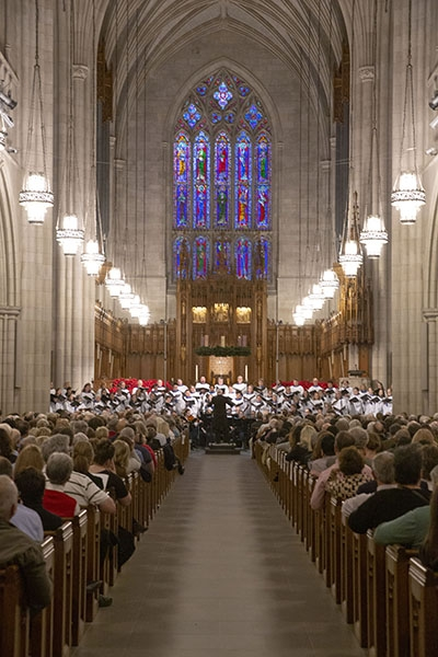 Chapel Choir sings Handel's 'Messiah'