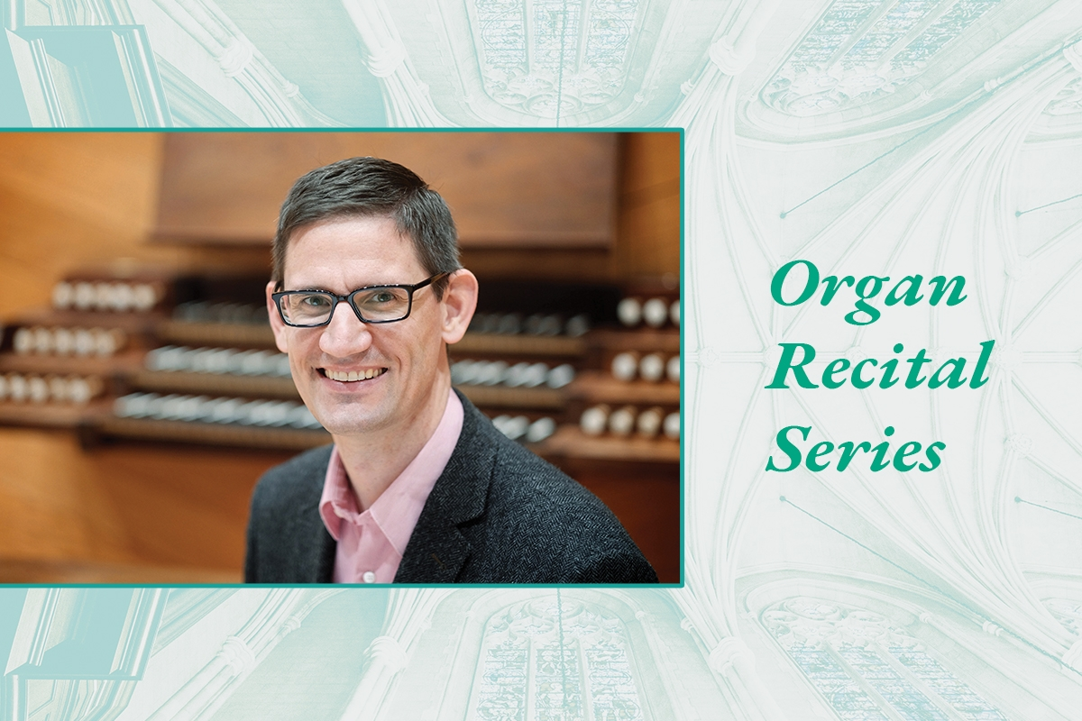 Timothy Olsen gives an organ recital Nov. 10