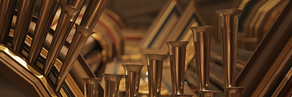 Pipes from the Flentrop Organ