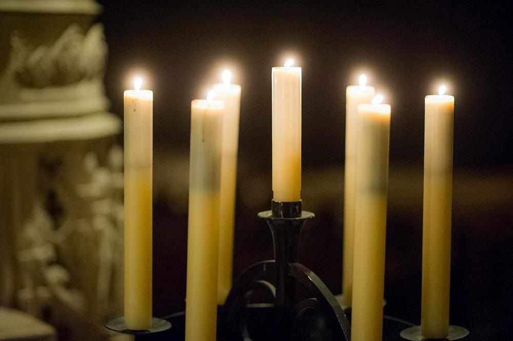 Candles at Duke Chapel