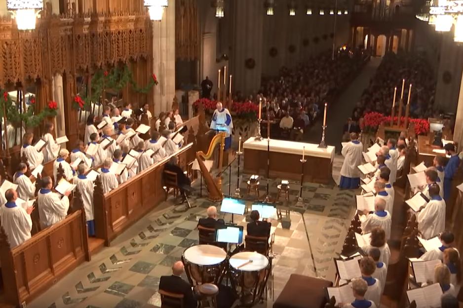 Duke Chapel Christmas Eve Community Choir