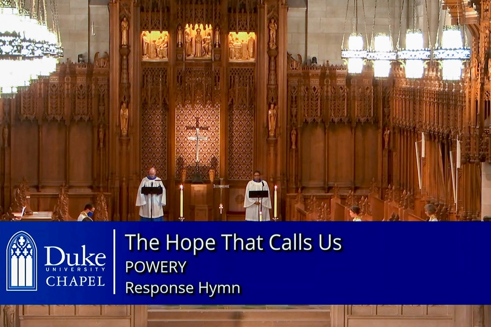 The Hope That Calls Us