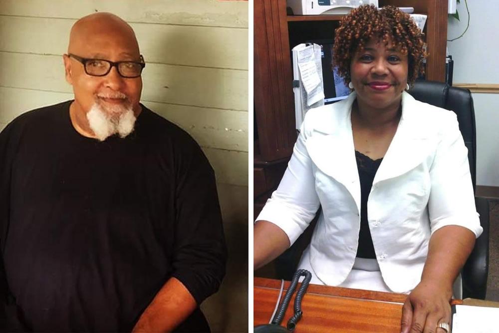 The Rev. Allen Jones and Minister Sylvia Belcher