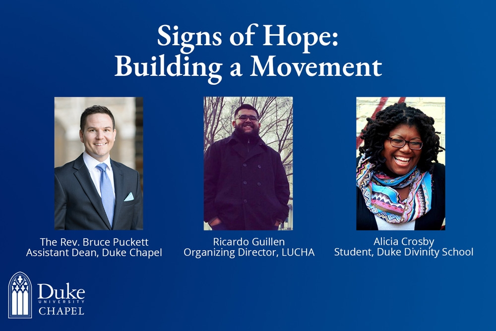 Signs of Hope: Building a Movement