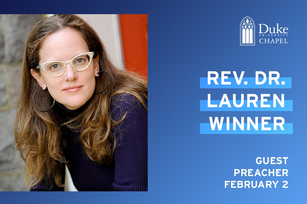 The Rev. Dr. Lauren Winner