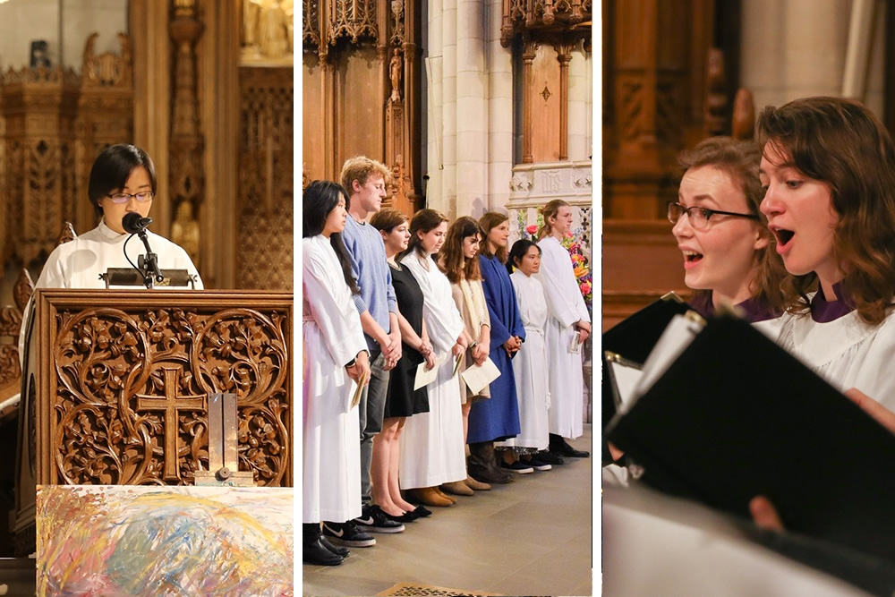 Students worship, belong, and sing at Duke Chapel
